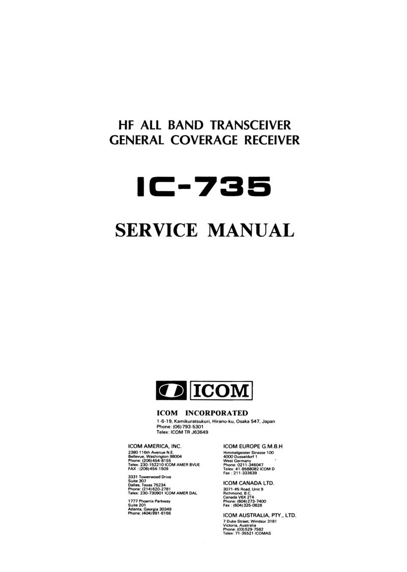 icom 735 manual