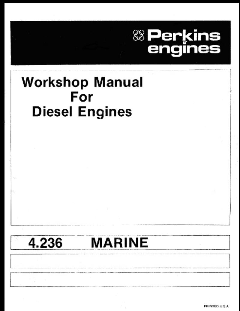 perkins 4 236 engine parts manual
